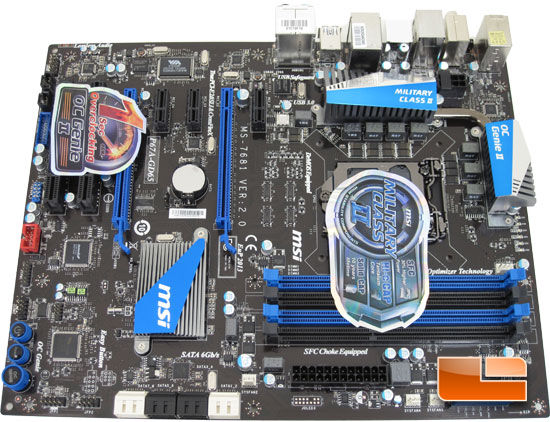 MSI P67A-GD65 Motherboard Preview