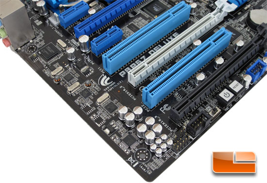 ASUS P8P67 Deluxe motherboard Layout