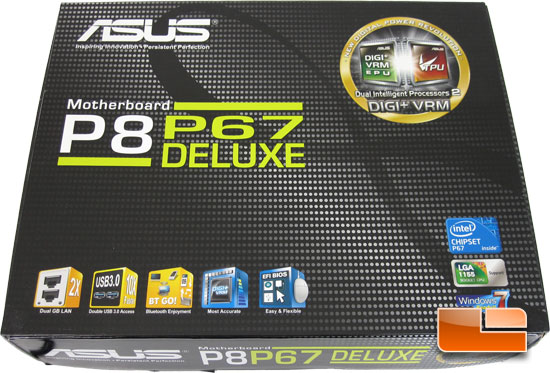 ASUS P8P67 Deluxe Retail Box and Bundle