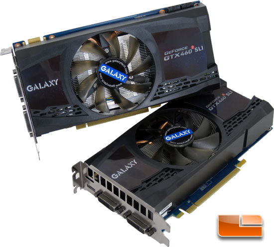Galaxy GeForce GTX 460 1Gb SLI Kit