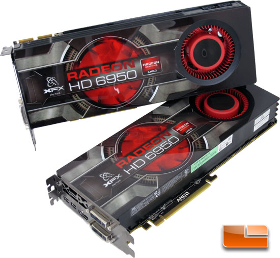 XFX Radeon HD 6950 2GB Graphics Card