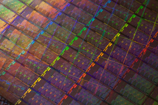 Intel Sandy Bridge Wafer