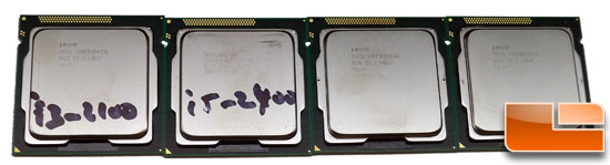 Intel Sandy Bridge Core i3 i5 i7 Review