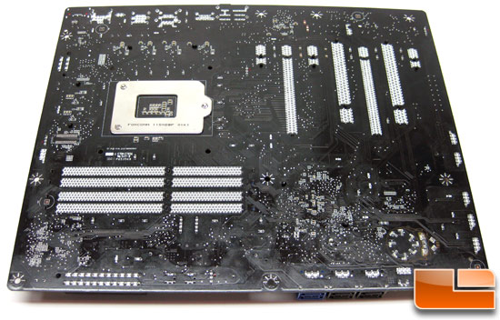 Intel Burrage DP67BG Motherboard Back