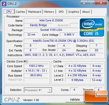 Intel Sandy Bridge Core i5 2500K Review