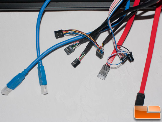 In-Win Dragon Rider Front Panel Cables