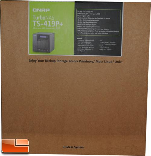QNAP TS-419P+ Turbo NAS 4-Bay Network Storage Review - Legit