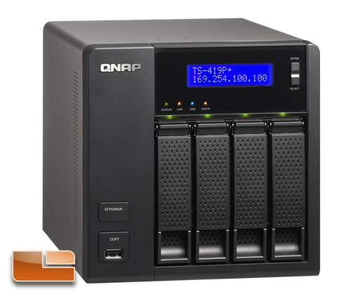 QNAP TS-419P+ Turbo NAS 4-Bay Network Storage Review