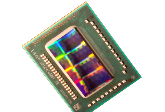 Intel Sandy Bridge 32nm CPU Die Shot