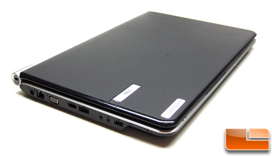 Intel Core i7-2820QM Compal Laptop