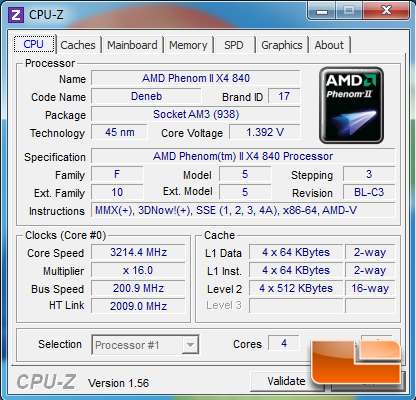 AMD Phenom II X4 840 CPU