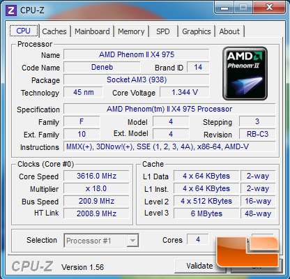 AMD Phenom II 975 Black Edition CPU