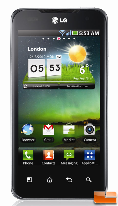 CES 2011: NVIDIA Tegra 2 and LG Dual-Core Super Phone