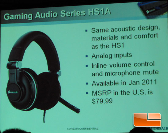 Corsair HS1A Gaming Audio Headphones