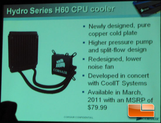 Corsair Hydro Series H60 Water Cooling