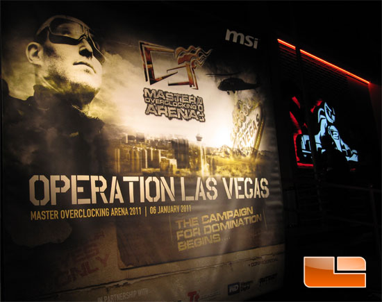 MSI Operation Las Vegas Master Overclocking Arena 2011