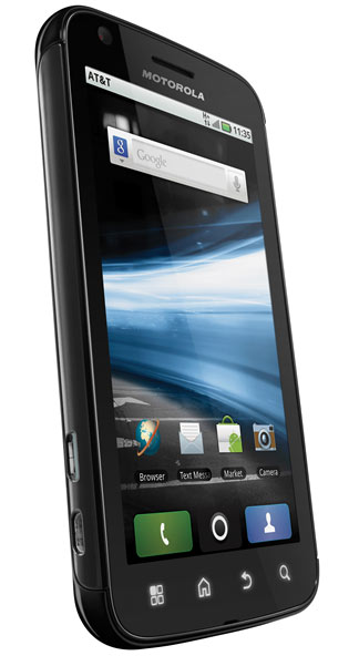 CES 2011: Hands on with the Motorola Atrix 4G & Zoom
