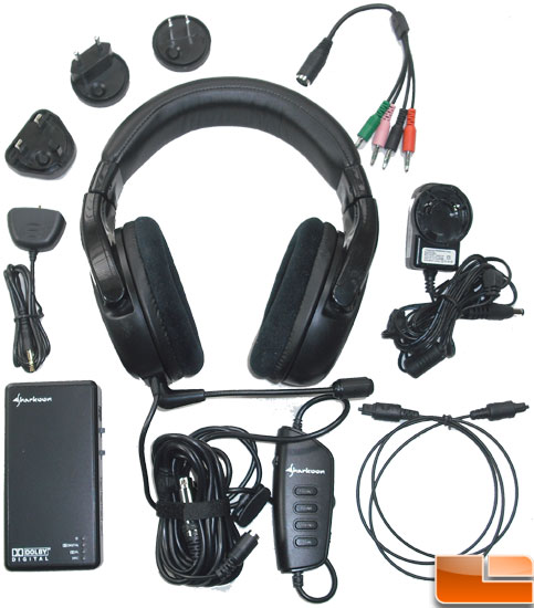 Sharkoon X-Tactic 5.1 Digital Headset Bundle