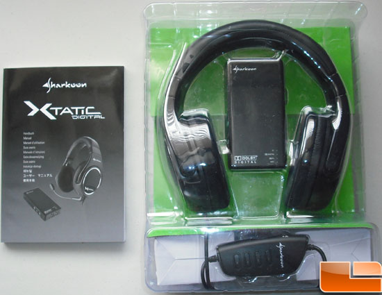 Sharkoon X-Tactic 5.1 Digital Headset Packaging