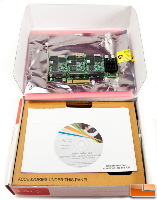 LSI WARPDRIVE BOX CONTENTS