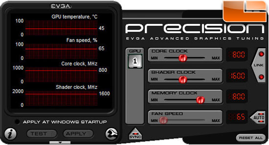 AXLE GeForce GT 430 Overclocking