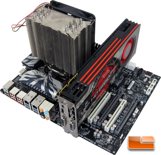 ECS P67H2-A Black Extreme Test Bench