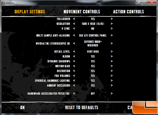 Sapphire Radeon HD 6850 Toxic Video Card Bad Company 2 Batman AA Settings