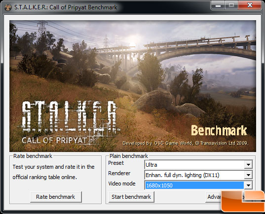 Asus Radeon HD 6870 Video Card Card Stalker CoP Settings