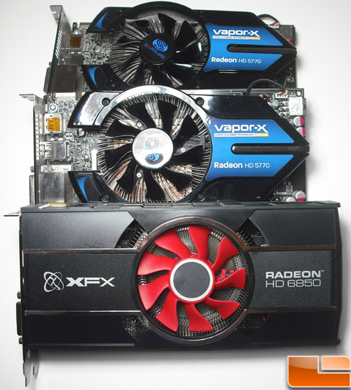 XFX Radeon HD 6850 Video Card with 5770