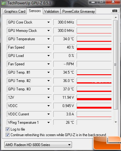 XFX Radeon HD 6850 Video Card Idle Temp 775