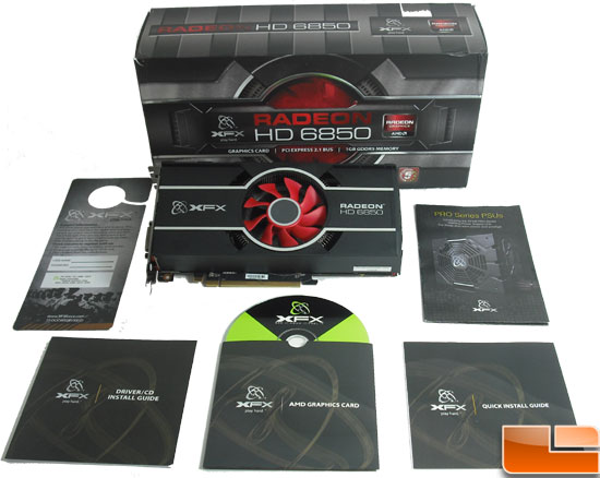 XFX Radeon HD 6850 Video Card Inside