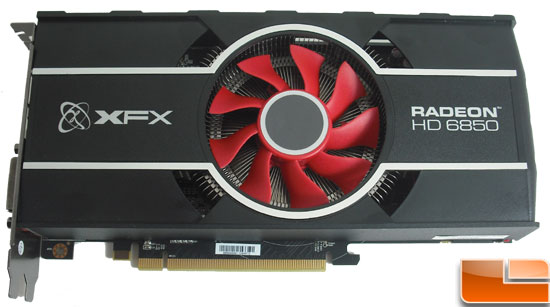 XFX Radeon HD 6850 Video Card Front