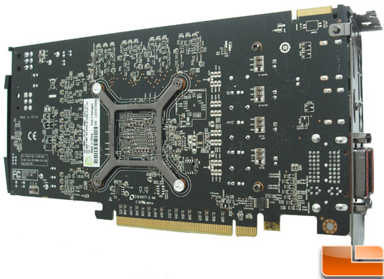 XFX Radeon HD 6850 Video Card Back
