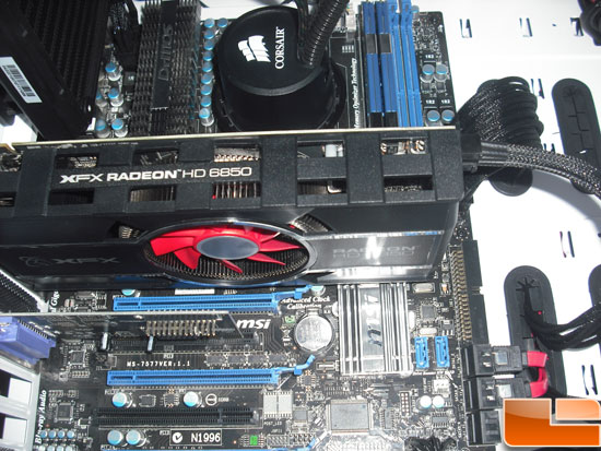 XFX Radeon HD 6850 Video Card Test Rig
