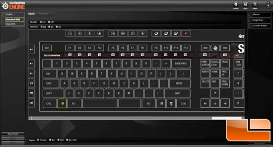 SteelSeries Shift MMO Gaming Keyboard Review - Page 3 of 4 - Legit ...