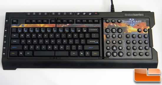SteelSeries Shift StarCraft II Keyset