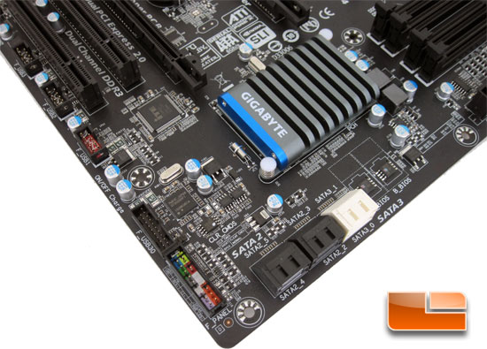 GIGABYTE P67A-UD4 Motherboard Layout