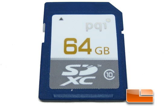 PQI SDHC Class10 flash memory card