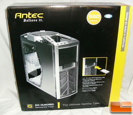 Antec 600 v2 Gaming Case Box Front