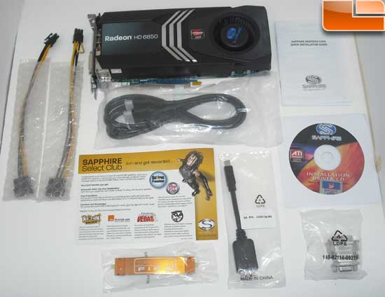 Sapphire Radeon HD 6850 Toxic Video Card Bundle