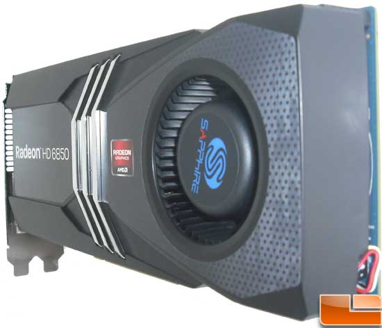 Sapphire Radeon HD 6850 Toxic Video Card Fan