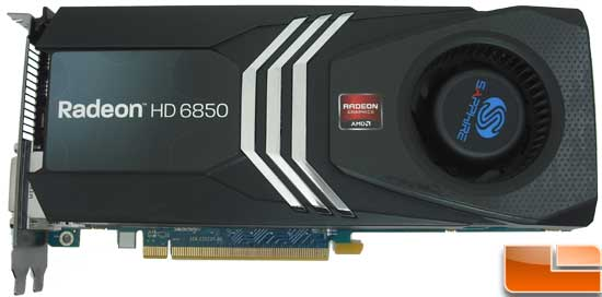 Sapphire Radeon HD 6850 Toxic Video Card Front