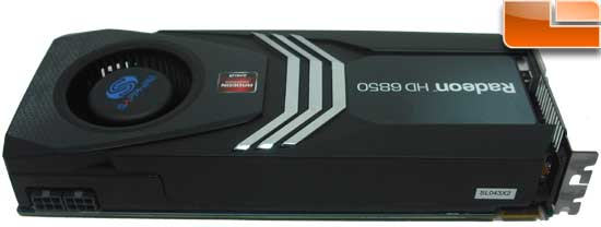 Sapphire Radeon HD 6850 Toxic Video Card Top