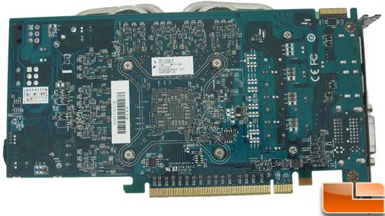 HIS Radeon HD 6850 Turbo Video Card Back