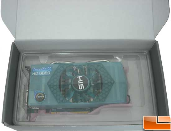 HIS Radeon HD 6850 Turbo Video Card Packing