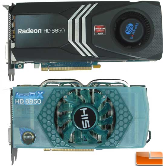 HIS Radeon HD 6850 Turbo Video Card Size