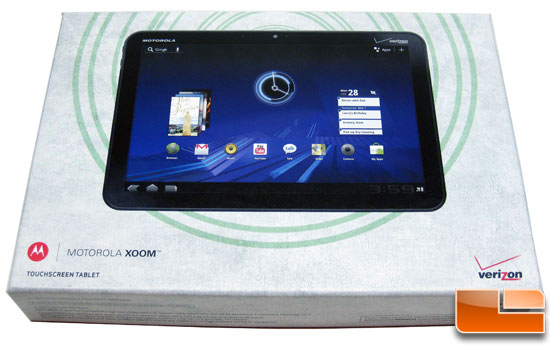 Motorola XOOM Wi-Fi + Verizon Wireless Tablet PC Review