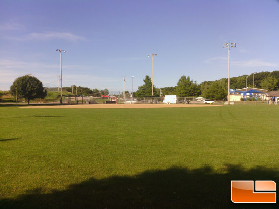 ASUS Transformer Picture of Baseball Field