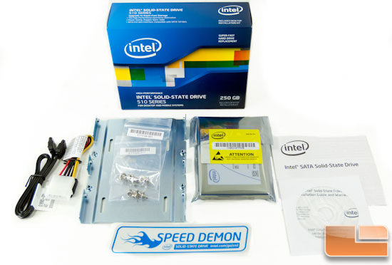 Intel 510 Series contents