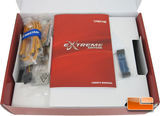 BIOSTAR TP67XE Motherboard Retail Packaging